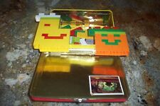 LEGO 160  Parts & Pieces IN A ALL METAL CURIOUS GEORGE LUNCH BOX VG CONDITION