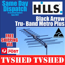 Hills Tru Band Black Arrow Digital VHF/UHF High Gain TV Antenna