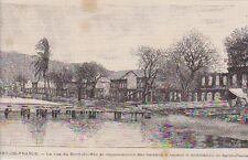 1890  --  FORT DE FRANCE  RUE DU BORD DE MER DETRUITE   3A986   MARTINIQUE