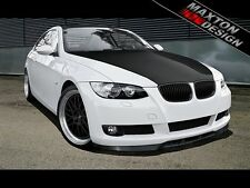 FRONT SPLITTER (GLOSS BLACK) - BMW 3 SERIES E92 & E93 PRE-FACE STANDARD