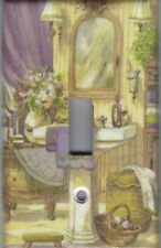 VICTORIAN BATH HOME WALL DECOR SINGLE LIGHT SWITCH PLATE COVER