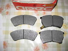 QUALITY FRONT BRAKE PADS - FITS: MAZDA 323 - BF1 MODEL (1985-89)