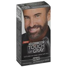 JUST FOR MEN Touch of Gray Beard Hair Treatment, Dark Brown - Black 1 ea