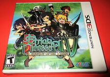 Etrian Odyssey IV: Legends of the Titan Nintendo 3DS Factory Sealed! Free Ship!