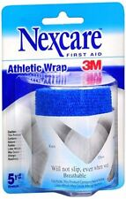 Nexcare Athletic Wrap 3 Inches X 5 Yards, Blue (Pack of 2)