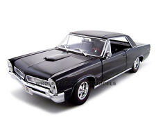 1965 PONTIAC GTO HURST EDITION BLACK 1:18 DIECAST MODEL CAR BY MAISTO 31885