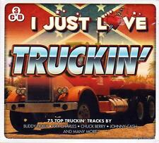 I JUST LOVE TRUCKIN' - 75 TOP TRUCKIN' TRACKS (NEW SEALED 3CD)