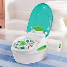 Toilet Pee Trainer Chair Training Seat Potty Baby Toddler Step Stool Kids Boys