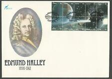 1986 Ciskei Sc #89 Halley's Comet Souvenir Sheet Cacheted Unaddressed FDC