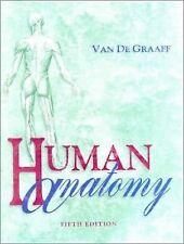 Human Anatomy, Van De Graaff, Kent M., 0697284131, Book, Acceptable