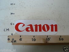 STICKER,DECAL CANON LOGO PHOTO ? 20 CM A