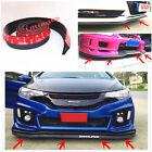 Rubber Front Bumper Flex Dura Edge STRIP CHIN Protection Side Skirts Spoiler Lip