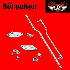 "Kuryakyn Chrome 3"" Extension Kit  with Forward Controls for 03-'08 Dyna 9049"