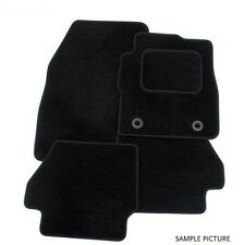 Mercedes C Class (W203) 00-07 Black Tailor Made Floor Car Mats
