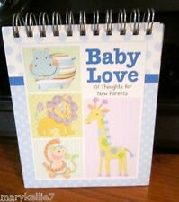 BABY LOVE 101 THOUGHTS FOR NEW PARENTS OF A BABY BOY BROWNLOW GIFTS