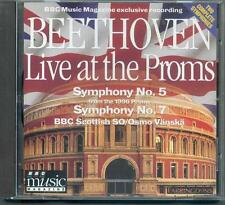 BEETHOVEN - SYMPHONIES 5 & 7 / BBC SCOTTISH SYMPHONY ORCH / OSMO VÄNSKÄ - BBC CD