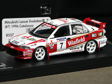 Winfield Logos Applied - Mitsubishi Lancer Evo '96 Catalunya -  HPI #8557 1/43