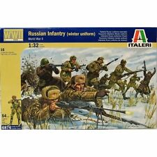 Italeri 1/32 WWII Russian Infantry Winter Uniform # 6876