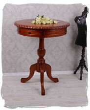 TEA TABLE ANTIQUE COFFEE TABLE MAHOGANY WOOD CARVINGS SIDE TABLE