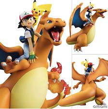 MegaHouse G.E.M. Series Pokemon Ash Ketchum & Pikachu & Charizard Figure FM3989