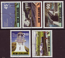 NEW ZEALAND 2006 RENEWABLE ENERGY SET OF 5 FINE USED