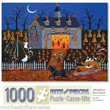 Bits And Pieces Puzzle 1000 Piece Puzzles Halloween Jigsaw Puzzles All Hallows