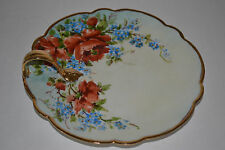 TV LIMOGES FRANCE DEPOSE HAND PAINTED NAPPY