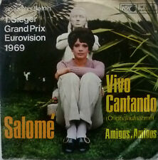 "7"" GRAND PRIX 1969 ( SPAIN ) SALOME : Vivo Cantando"