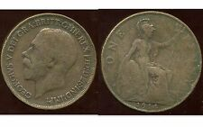 ROYAUME UNI  one penny 1914  ( bis )