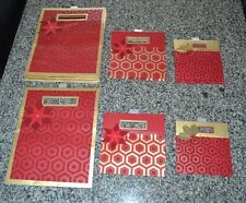 Lot of 18 - Hallmark Christmas Shopping Gift BAGS Poinsettia Holly red gold $75