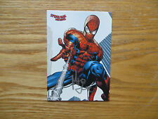 2009 SPIDER-MAN ARCHIVES WEB SHOOTERS CARD SIGNED MIKE DEODATO JR. ART, WITH POA