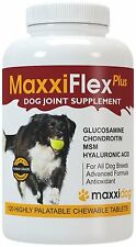 MaxxiFlex Plus Dog Joint Supplement with Glucosamine, Chondroitin, MSM MFP-2014