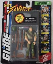 1994 Hasbro GI Joe Sgt Savage & Screaming Eagles Jungle Camo D-Day Figure