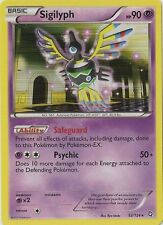 Sigilyph 52/124 B&W Dragons Exalted  HOLO PERFECT MINT! Pokemon