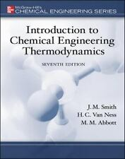 Introduction to Chemical Engineering Thermodynamics(SIE) Int'L Edition
