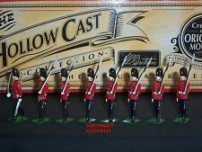 Britains 40250 hollowcast royal fusiliers officier + marching toy soldier set