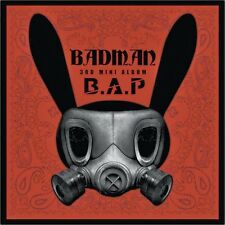 B.A.P - BADMAN [3rd MINI Album] Photobook+CD New Sealed BAP BAD MAN