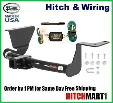"FITS 2007-2011 HONDA CRV CLASS 3 CURT TRAILER HITCH & WIRING PKG 2"" TOW RECEIVER"