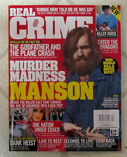 REAL CRIME Issue No2 CHARLES MANSON Killer Cult AQUARIUS BAD TRIP Bank GODFATHER