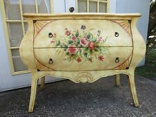 Bombay Dresser Curved French Bureau Provincial Painted Buffet Country STY