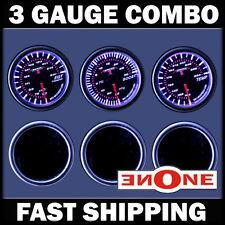 52mm MK1 Tinted 30 psi Boost + 2400 EGT Pyrometer + Trans Temp Diesel Gauges