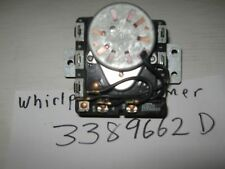 WHIRLPOOL DRYER TIMER 3389662D 90 DAYS WARRANTY. FREE SHIPPING.