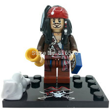 Captain Jack Sparrow Pirates of the Caribbean Minifigures building toys lego