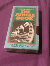 The Jungle Book (VHS) 1942 Version SABU; Rosemary De Camp 107 minutes Color