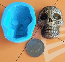 SKULL Ghoul CAMEO skeleton silicone mould / mold cake topper