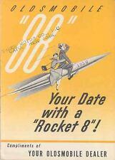 1950 Oldsmobile 88 Brochure mx826-WIKRFR