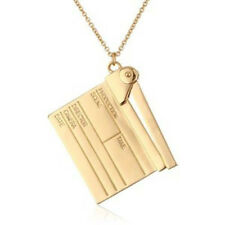 NWT Kate Spade CINEMA CITY CLAPPER MOVIE CLAPBOARD PENDANT NECKLACE