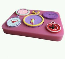 New Hot 3D Clock and Watch Time Silicone Mould Cake topper UK SELLER