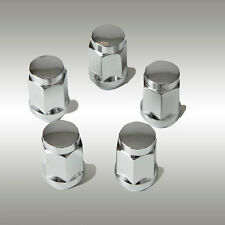 "Chrome Acorn Wheel Nut 1/2"" Mag / Steel Ford Jeep 34.55mm (EACH)"