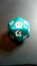Theros Green Spindown Life Counter d20 mtg Dice Magic